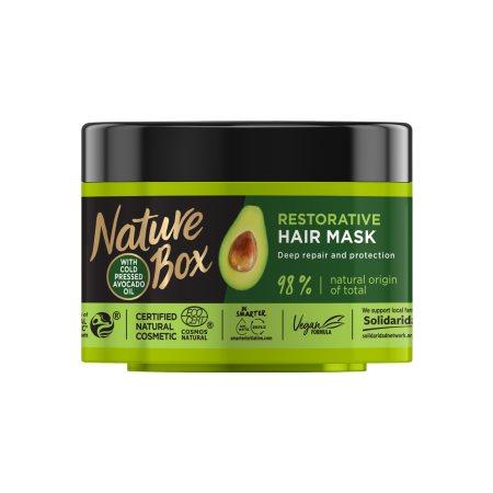 NATURE BOX Μάσκα Μαλλιών Avocado Vegan 200ml