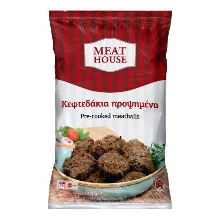 Κεφτεδάκια MEAT HOUSE Προψημένα 420gr
