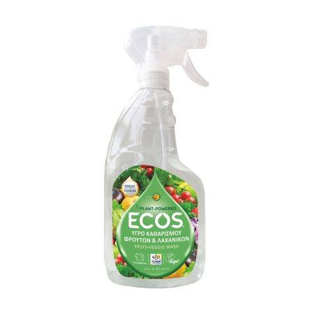 ECOS Καθαριστικό Φρούτων & Λαχανικών Vegan 650ml