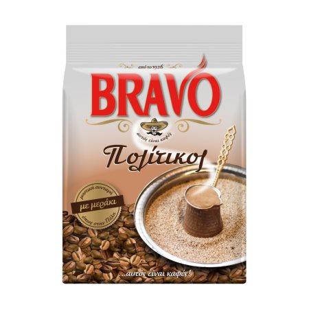 BRAVO Πολίτικος Καφές Ελληνικός  194gr