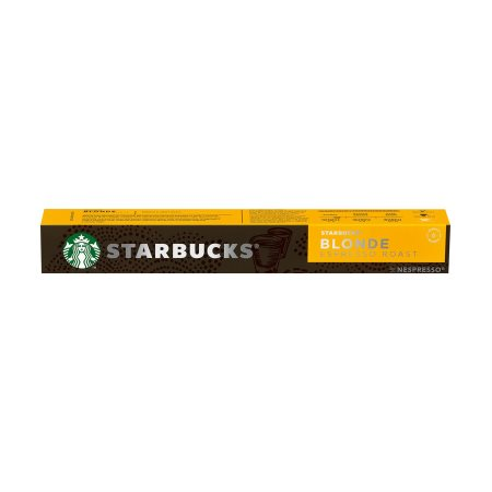 STARBUCKS Καφές Espresso Blonde Roast σε Κάψουλες συμβατές με μηχανή Nespresso 10x5,3gr