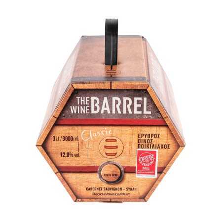 THE WINE BARREL Ερυθρός Οίνος 3lt