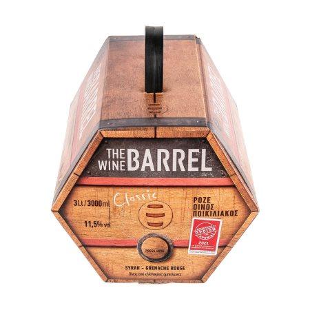 THE WINE BARREL Ροζέ Οίνος 3lt