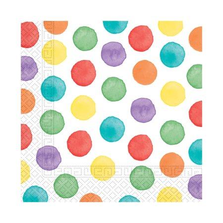 DECORATA Χαρτοπετσέτες με σχέδιο Dots 33x33 3φύλλες 20τεμ