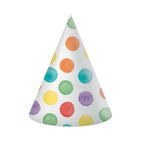 DECORATA Καπέλα με σχέδιο Dots 6τεμ