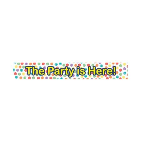 DECORATA Banner με σχέδιο Dots 3τεμ