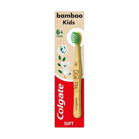 COLGATE Οδοντόβουρτσα Παιδική Bamboo 6+ ετών