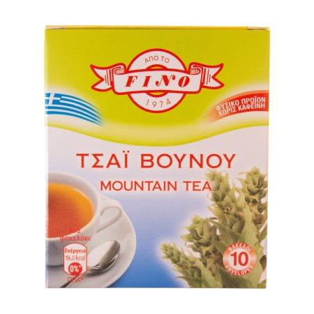 FINO Τσάι Βουνού 10 φακελάκια x1,8gr