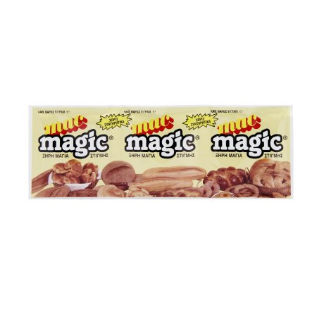 MAC MAGIC Μαγιά Ξηρή 3x9gr