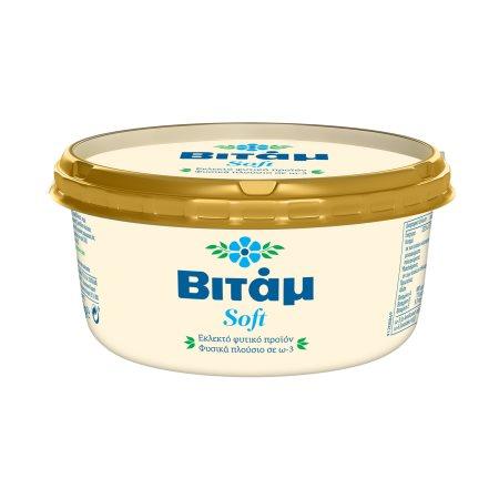 ΒΙΤΑΜ Μαργαρίνη Soft 60% 250gr