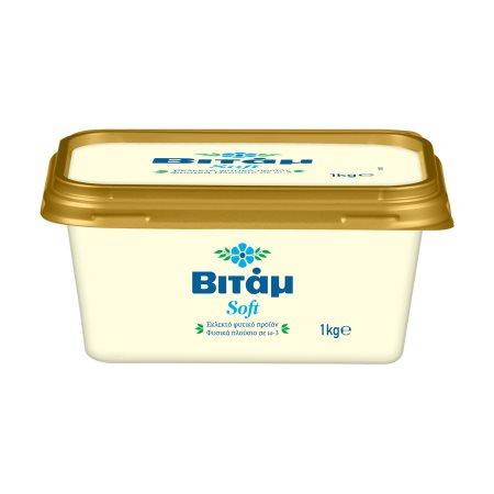 ΒΙΤΑΜ Μαργαρίνη Soft 60% 1kg