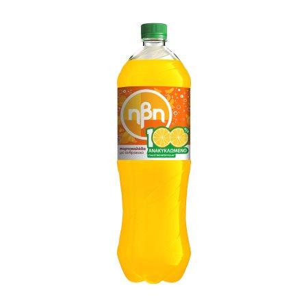 ΗΒΗ Αναψυκτικό Πορτοκαλάδα με Ανθρακικό 1,5lt