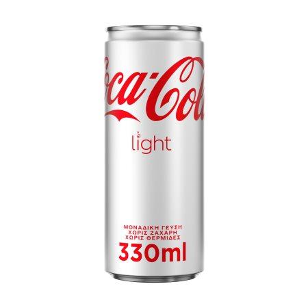 COCA COLA Light Αναψυκτικό Χωρίς ζάχαρη 330ml