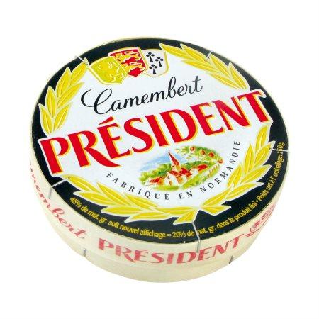 Camembert PRESIDENT 21% 250gr