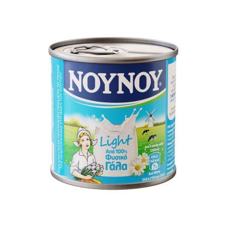 ΝΟΥΝΟΥ Γάλα Εβαπορέ Ελαφρύ 4% Λιπαρά 170gr