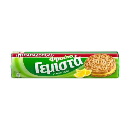 ΠΑΠΑΔΟΠΟΥΛΟΥ Μπισκότα Γεμιστά Λεμόνι 200gr