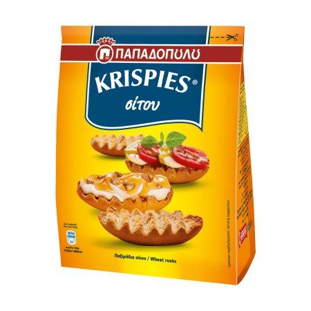 ΠΑΠΑΔΟΠΟΥΛΟΥ Krispies Παξιμάδια Σίτου 200gr