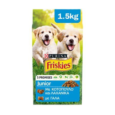 FRISKIES Junior Ξηρή Τροφή Σκύλου 1,5kg