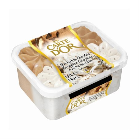 CARTE D'OR Παγωτό Στρατσιατέλα Σοκολάτα Gianduia 1kg (1,8lt)