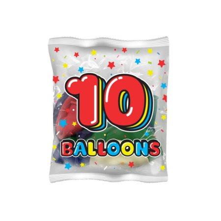 SWAN Μπαλόνια με σχέδιο Αστεράκι Νο26 10τεμ