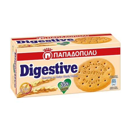 ΠΑΠΑΔΟΠΟΥΛΟΥ Digestive Μπισκότα με Λιγότερα Λιπαρά 35% 250gr