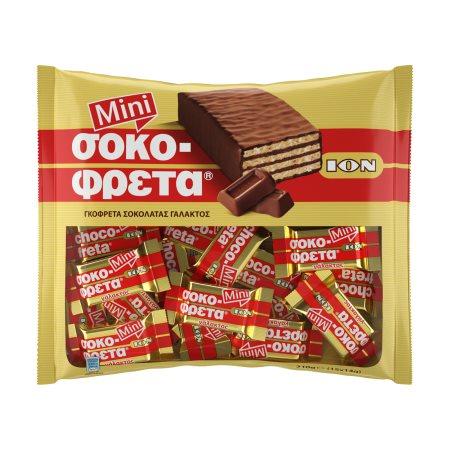 ΙΟΝ Σοκοφρέτα Μίνι Γάλακτος 210gr