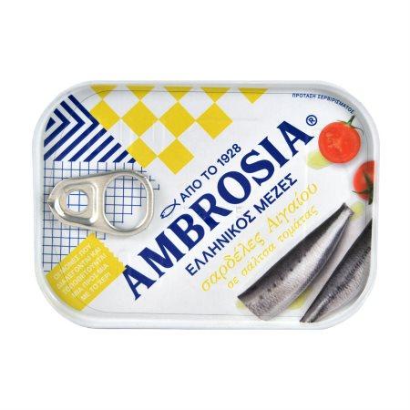 AMBROSIA Σαρδέλες σε Σάλτσα Ντομάτας 75gr