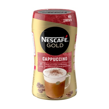 NESCAFE Gold Καφές Στιγμιαίος Cappuccino 250gr