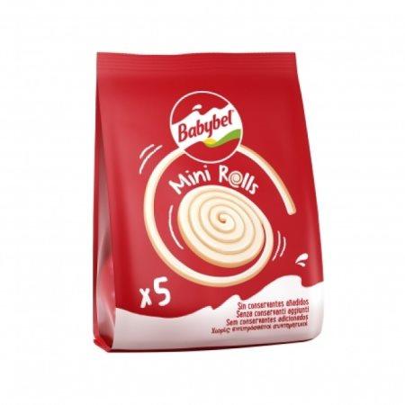 Τυρί BABYBEL Mini Roll Ημισκληρο σε μερίδες 85g