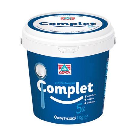 ΔΕΛΤΑ Complet Γιαούρτι 5% 1kg