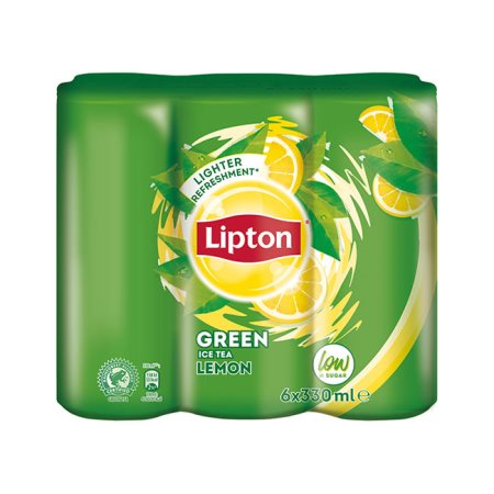 LIPTON Ice Tea Πράσινο τσάι Λεμόνι 6x330ml