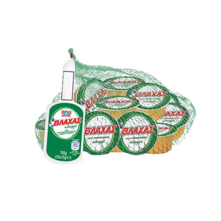 ΒΛΑΧΑΣ Γάλα Εβαπορέ Μερίδες Ελαφρύ 4% Λιπαρά 10x15gr