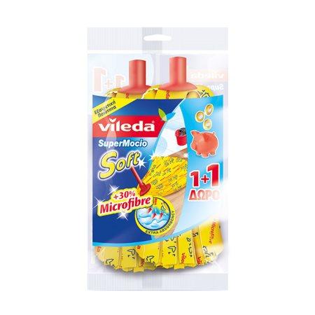 VILEDA Σφουγγαρίστρα Soft Χονδρό Σπείρωμα +1 Δώρο