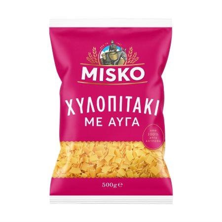 MISKO Χυλοπιτάκι με Αυγά 500gr