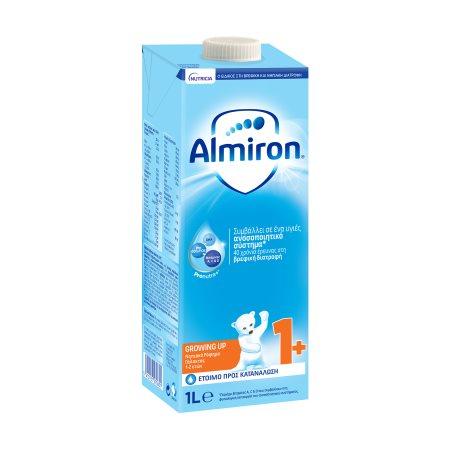 ALMIRON Growing Up Ρόφημα Γάλακτος για Νήπια 1+ Έτους 1lt