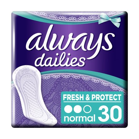 ALWAYS Dailies Fresh&Protect Σερβιετάκια Normal 30τεμ