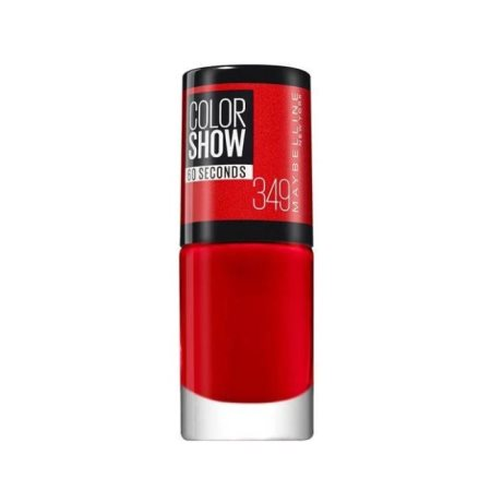 MAYBELLINE Βερνίκι Νυχιών Color Show Νo349 Power Red