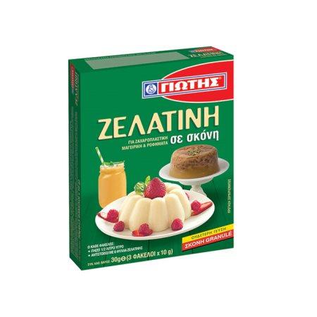 ΓΙΩΤΗΣ Ζελατίνη σε σκόνη 3x10gr
