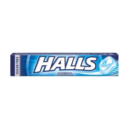 HALLS Original Καραμέλες Χωρίς ζάχαρη 32gr