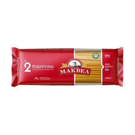 ΜΑΚΒΕΛ Μακαρόνια για Παστίτσιο Νο2 500gr