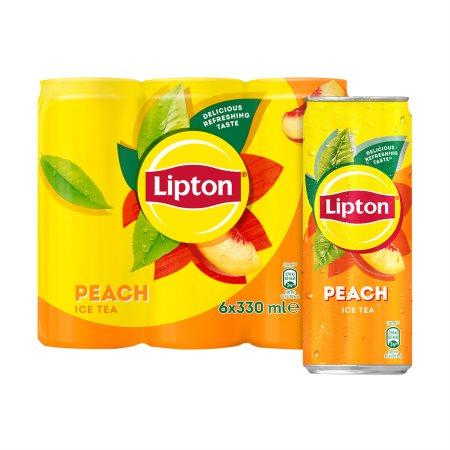 LIPTON Ice Tea Ροδάκινο 6x330ml