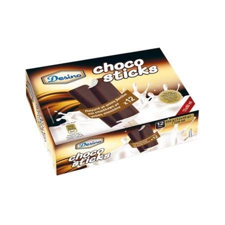 DESINO Παγωτό Chocosticks 12τεμ 456gr (720ml)