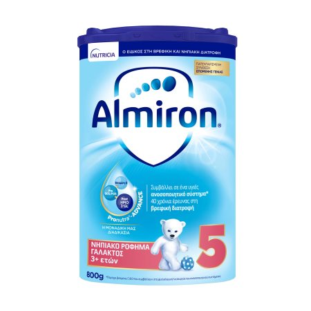 NUTRICIA Almiron 5 Νηπιακό Ρόφημα Γάλακτος +3 Ετών σε σκόνη 800gr
