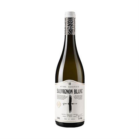 ΚΤΗΜΑ ΚΑΡΙΠΙΔΗ Λευκός Οίνος Sauvignon Blanc Βιολογικός ΠΓΕ 750ml