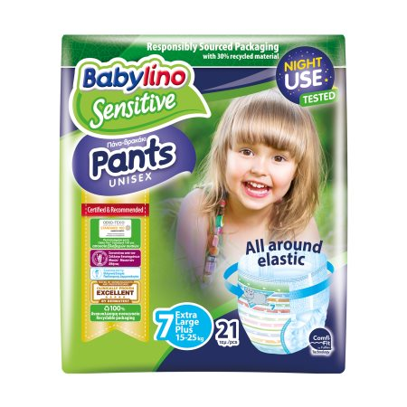 BABYLINO Pants Unisex Πάνες Βρακάκι Νο7 15-25kg  21τεμ