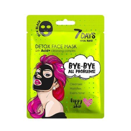 7 DAYS Μάσκα Προσώπου Υφασμάτινη Detox 25gr