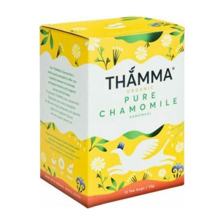 THAMMA Αφέψημα Pure Chamomile Χαμομήλι Βιολογικό 12 φακελάκια 12gr