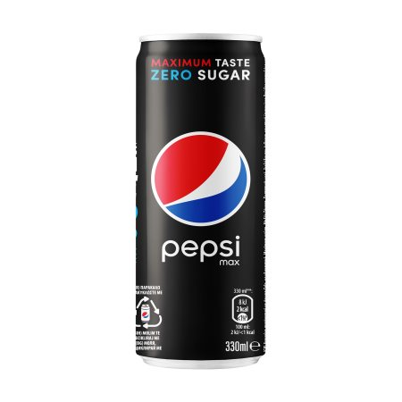 PEPSI Max Αναψυκτικό Cola Χωρίς ζάχαρη 330ml