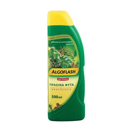 ALGOFLASH Λίπασμα Υγρό για Πράσινα Φυτά 500ml