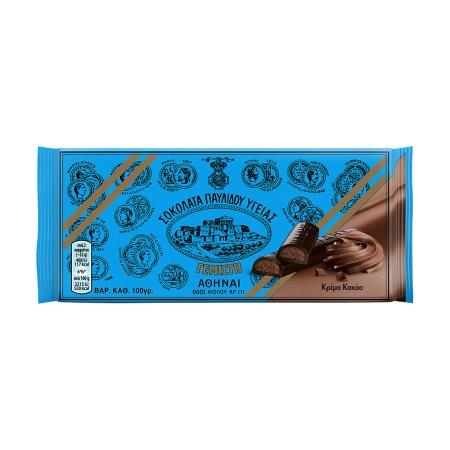 ΠΑΥΛΙΔΗΣ Σοκολάτα Υγείας με Κρέμα Κακάο 100gr